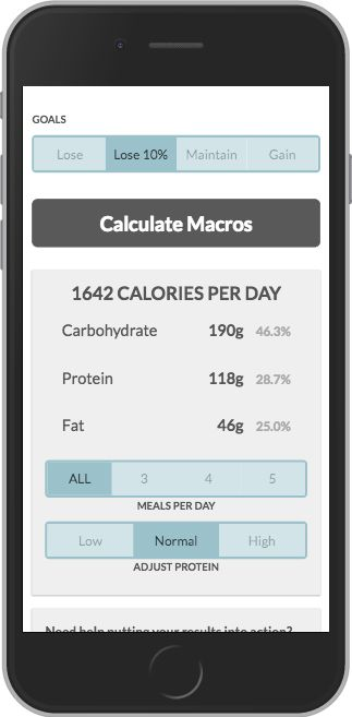 Try out some of the best online macro calculators.
