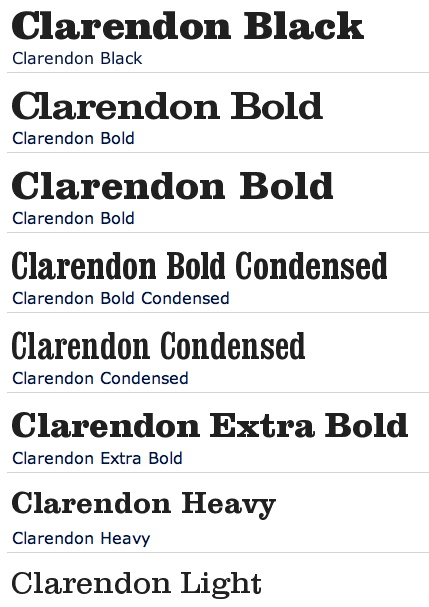 Clarendon Font Family // Free Font Download | Art & Photography