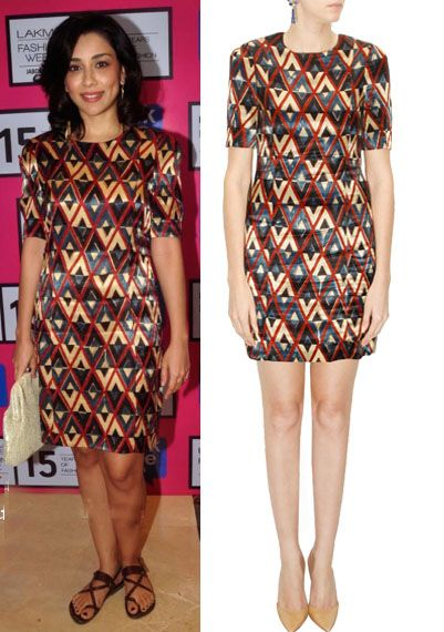 GET THIS LOOK- Amrita Puri looks cute in an outfit by shift by Nimish Shah. Shop…
