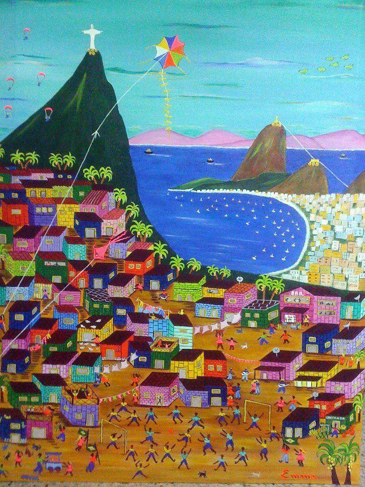 Rio de Janeiro | arte Naif por Emma Bianchini