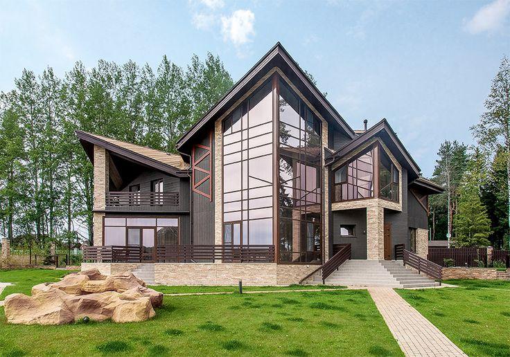 Загородный дом в стилистике скандинавского минимализма | Архитектурные проекты | Журнал «Красивые дома»