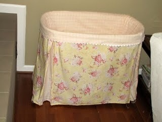 Must find a slipcover tutorial for my bassinet!