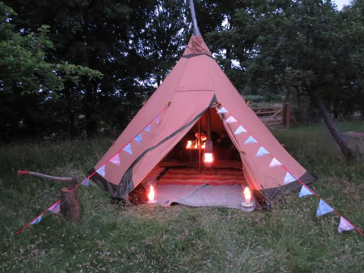 31 best images about camping on pinterest for Reliable tipi