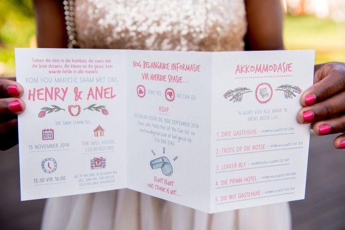 African Styled wedding Shoot #BeachWedding - Wedding Invitation