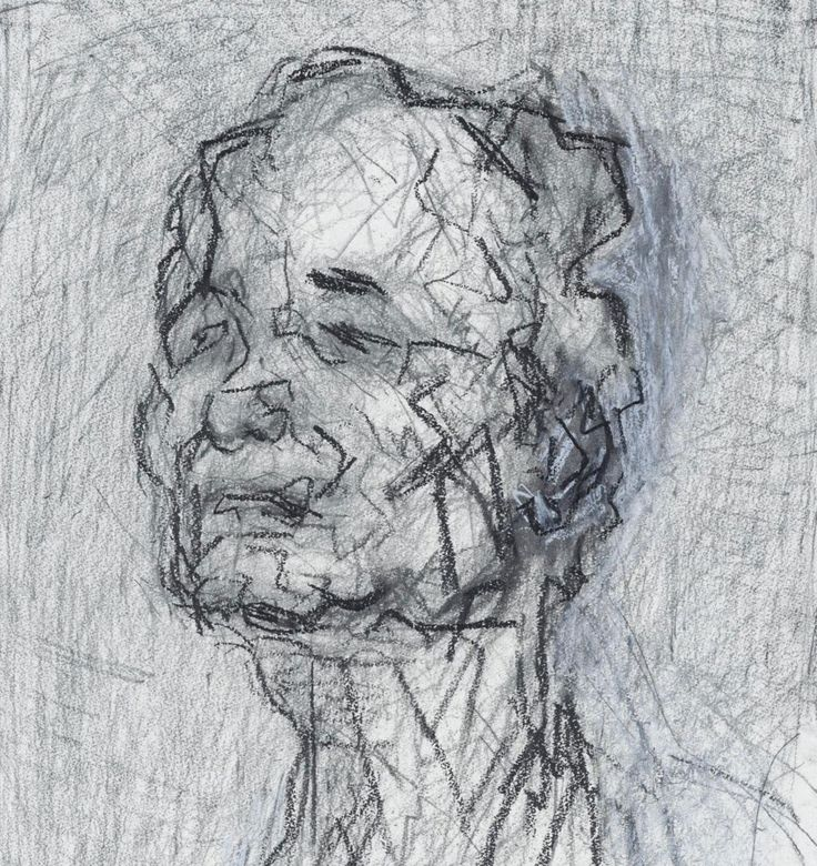 FRANK AUERBACH Self-Portrait II (2013)? Marlborough Fine Art