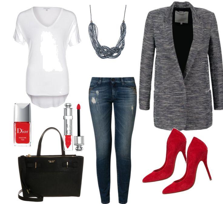 damenoutfit erstes date in der stadt fr hling damenoutfit outfit outfits frauen pinterest. Black Bedroom Furniture Sets. Home Design Ideas