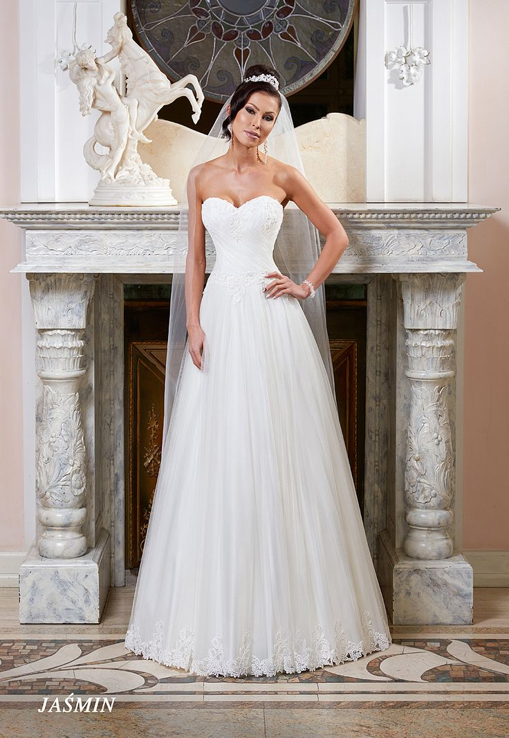 Suknie ślubne Fasson, Wedding dresses by Dorota Wróbel, Suknia Jaśmin
