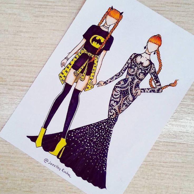 Batman (x2) (Fashion by JoeslleyRocha ? ?) #Batman – Deana Alley