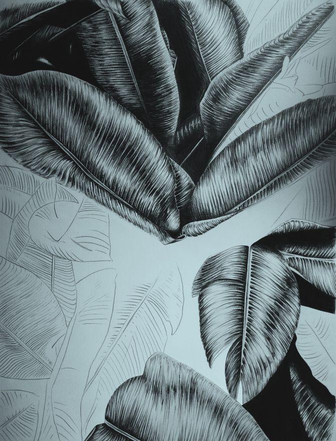 Blue palm - Helene Egeland