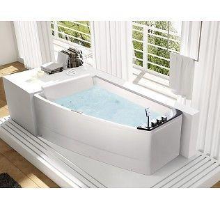 17 meilleures id es propos de baignoire d 39 angle sur for Petite baignoire carree