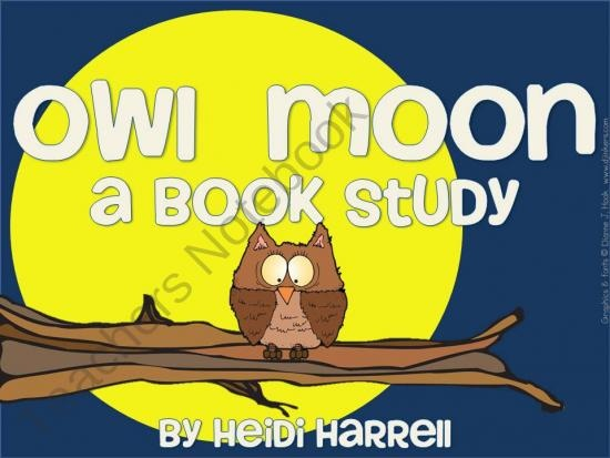 Owl Moon - A Book Study product from In-That-Room on TeachersNotebook.com