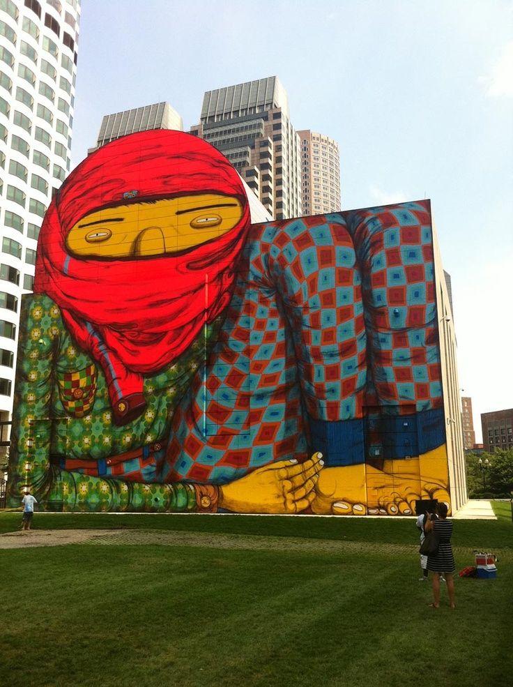 Artists : Os Gemeos #streetart