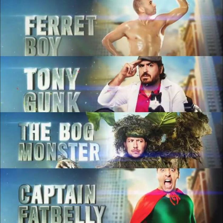 Impractical jokers all look very good and very sexy ❤️