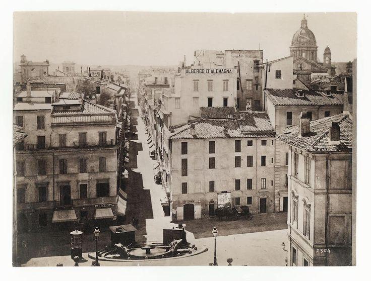 Piazza di Spagna (1869)