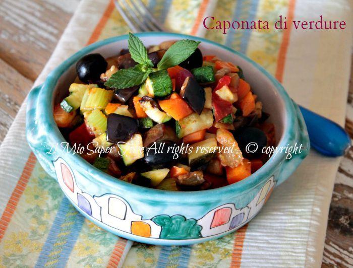 Caponata di verdure ricetta pugliese il mio saper fare