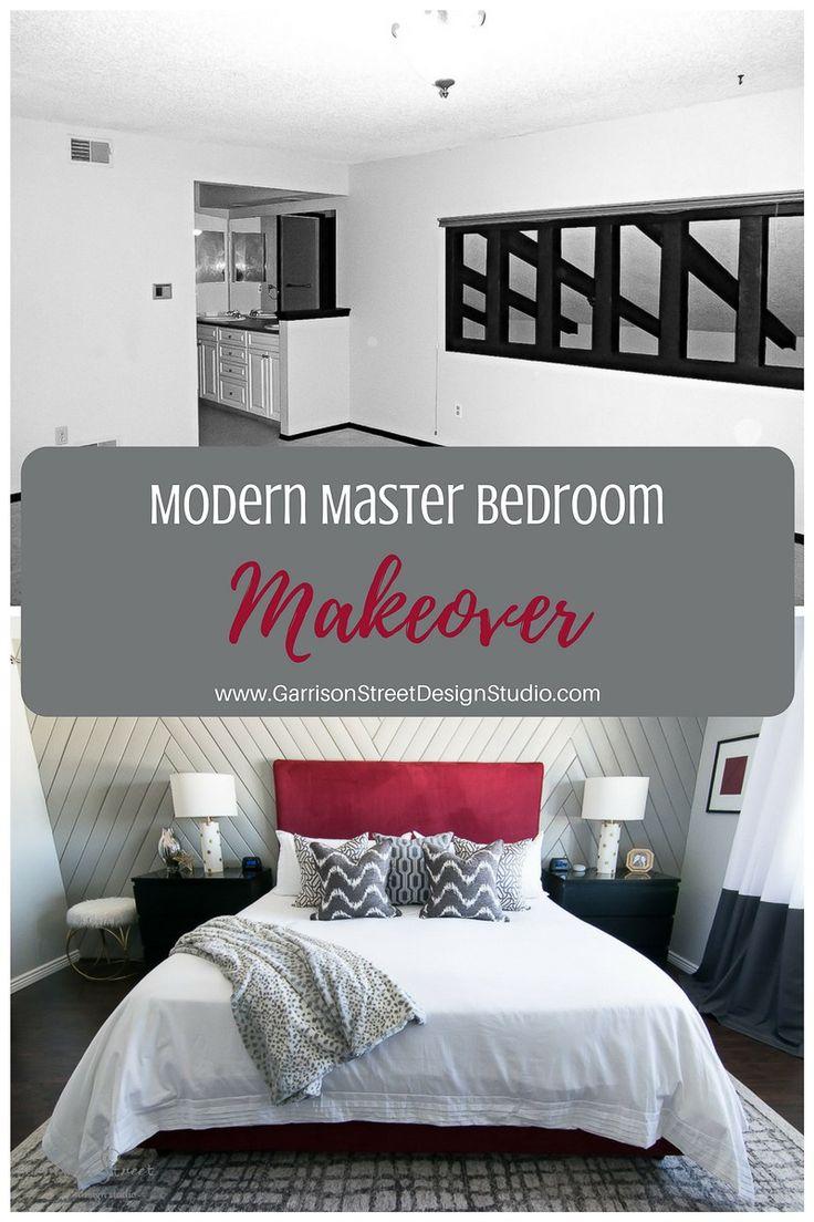Modern Master Bedroom Makeover Reveal | Garrison Street Design Studio