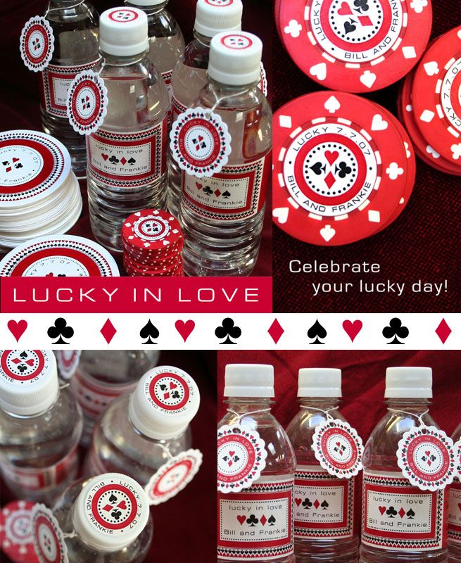 casino party ideas | Celebrate your love and good fortune, good times and good company ...