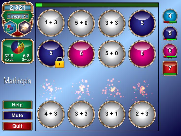 Mathtopia+ - ett underhållande spel som tränar matematiska färdigheter   Pappas Appar