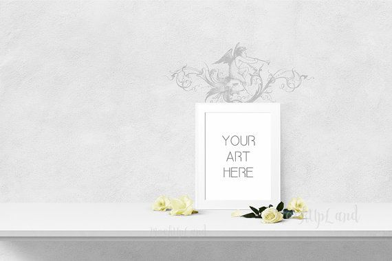 OUTSTANDING Mock up 12 x 16 inch | 30 x 40 cm Styled Mock Up | Elegant Art | Any Room Art | kids room | nursery art mock up
