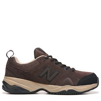 New Balance Men's 609 V3 Memory Sole X-Wide Sneakers (Brown)