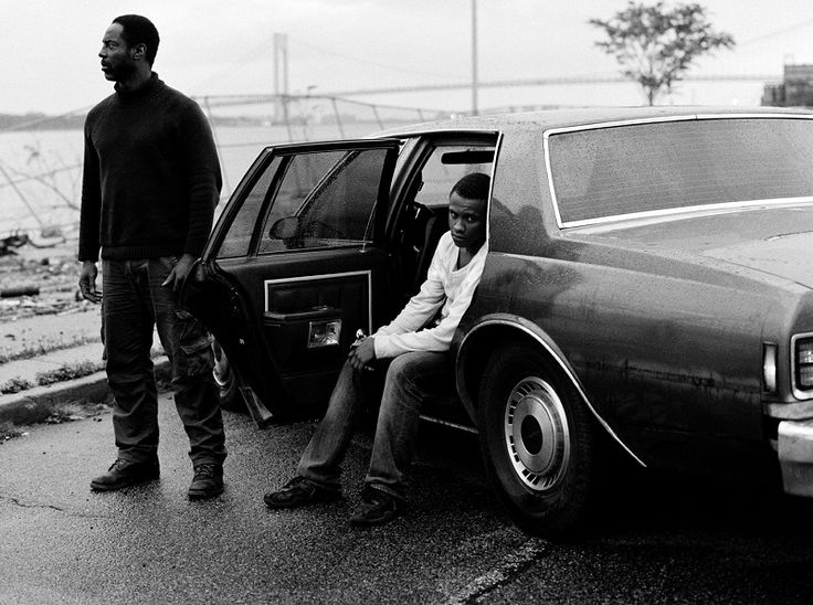 Isaiah Washington and Tequan Richmond as John Allen Muhammad and Lee Boyd Malvo in Blue Caprice.