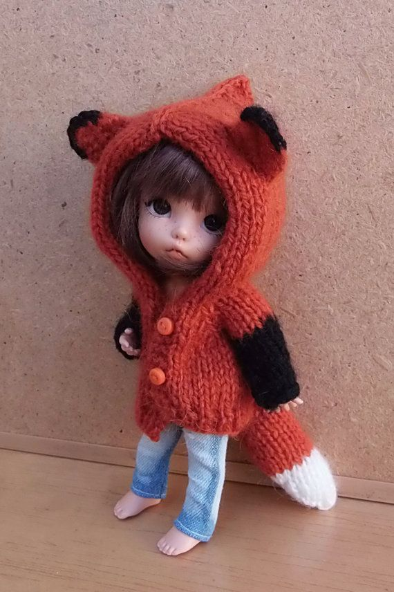 PRE-ORDER fox cardigan jacket made in mohair for by Mitilene $29