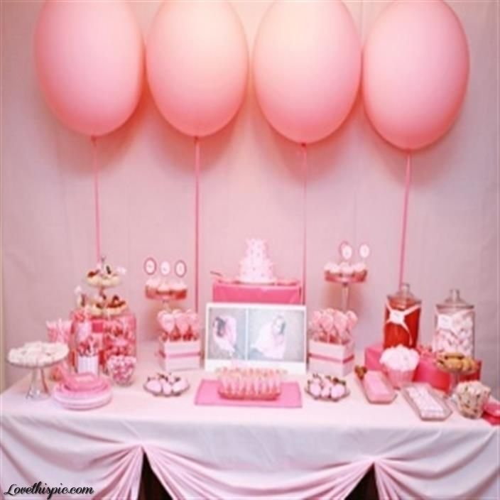 110 best images about baby shower ideas on pinterest for Baby girl shower decoration