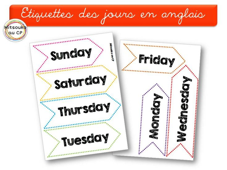 Extrêmement 53 best Anglais cycle 2 images on Pinterest | English classroom  BW72