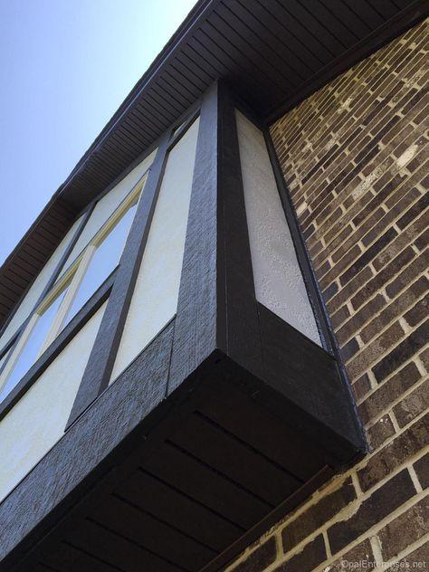 The 25 best ideas about stucco siding on pinterest diy for Tudor siding panels