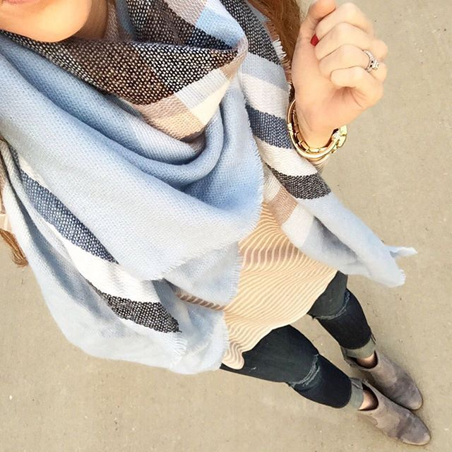 Love warm scarves.