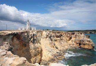 Cabo Rojo (Los Morrillos) Lighthouse, Puerto Rico at Lighthousefriends.com