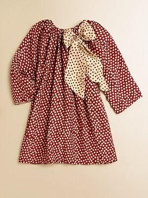 Isabel Garreton  Toddler's & Little Girl's Silk Polka Dot Dress
