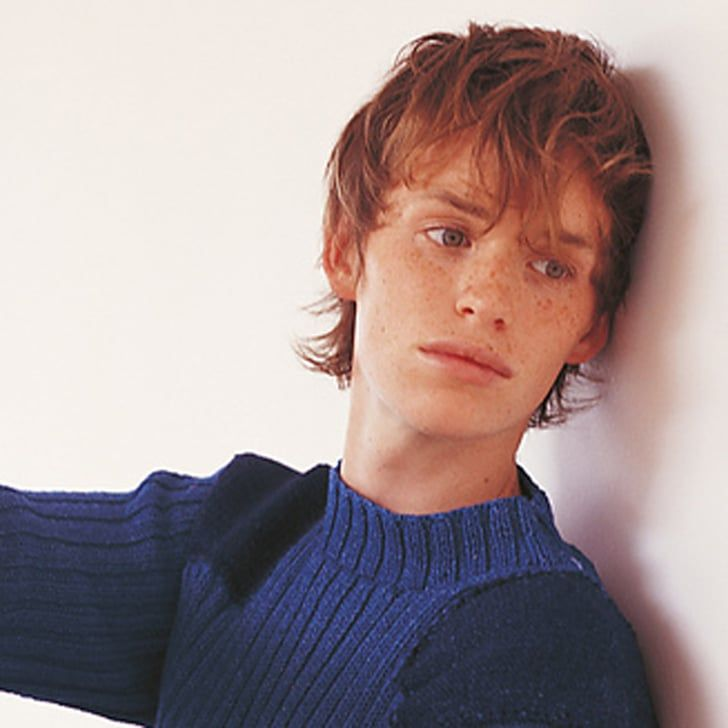 Pin for Later: Let's Take a Moment to Relive Eddie Redmayne's Early Career as a Knitwear Model