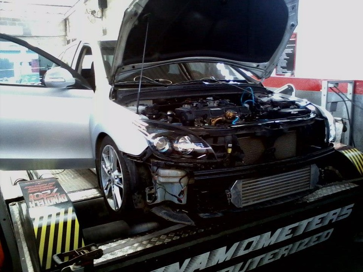 Hyundai I30 with turbocharger, increased from 198 to 320 HP. These pictures were sent to us from AMB Motorsport (Perfect Power Dealer in Brazil).