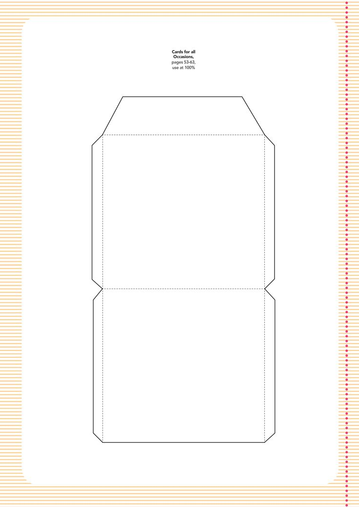 templates-6.jpg (2480×3507) | Card templates and papers | Pinterest