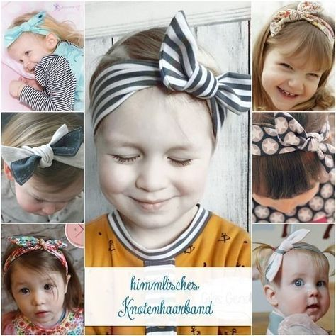 """FREEBOOK sewing instructions and pattern """"heavenly knot hair band"""" – Immediate download instructions from Makerist"""