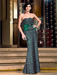 Formal Evening/Prom/Military Ball Dress - Multi-color Plus Sizes Sheath/Column Sweetheart Floor-length Lace