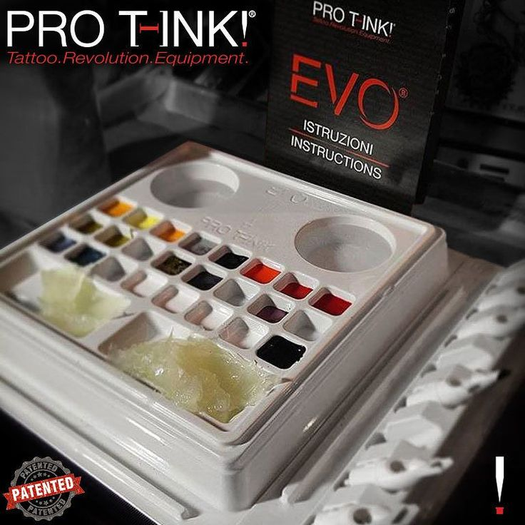 EVO is a sterile tattoo workstation composed of three elements: the palette the flat tray and the needles holder. They are connected and usable in different positions and on any support base. Check out our website:  http://ift.tt/2ekrXQo  EVO Tattoo Workstation main features:  Ready in seconds  10 or 24 cups for colors  2 Spaces for water/glass  Dedicated compartments for cream/vaseline  6 or 8 Needle Cartridges Holder  Suitable for left and right-handed  Organised & Versatile  Disposable…