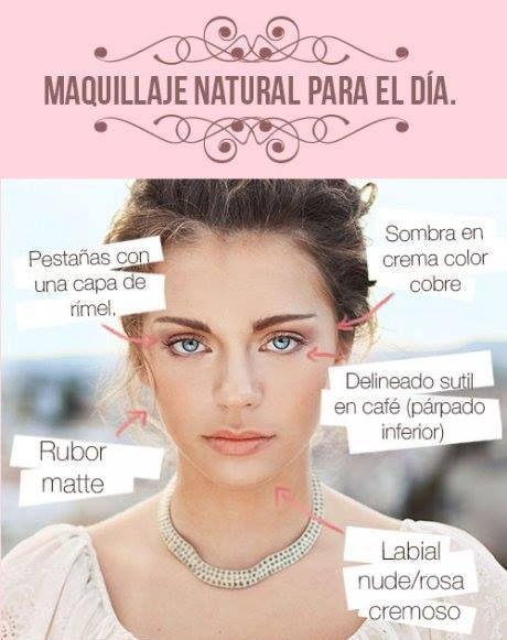Maquillaje natural para el día