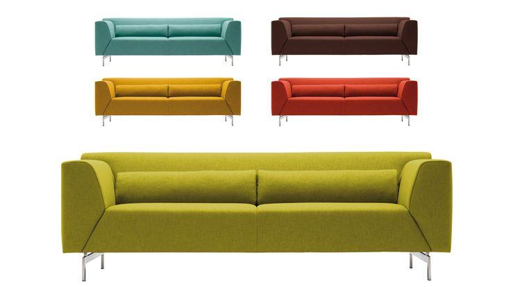 Rolf Benz Linea: eenvoudige lijnen maken het designwaardig. Actieprijzen in enkele stoffen en leer maken het nog leuker.