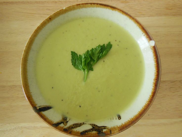 avocado soup.
