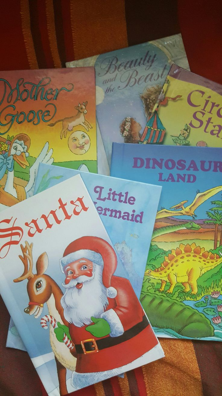 Personalised children's books. The kids are sooooo excited to see their names in it. These also make great gifts!