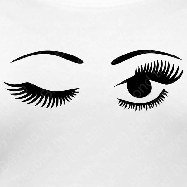 eyelashes coloring pages - photo#29