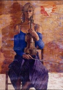 A great artistic video with Talani paintings and Pescini piano music!