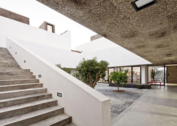 5osA: [오사] :: *경사지 프라빗 중정 하우스 [ Vora Arquitectura ] Villa Extramuros