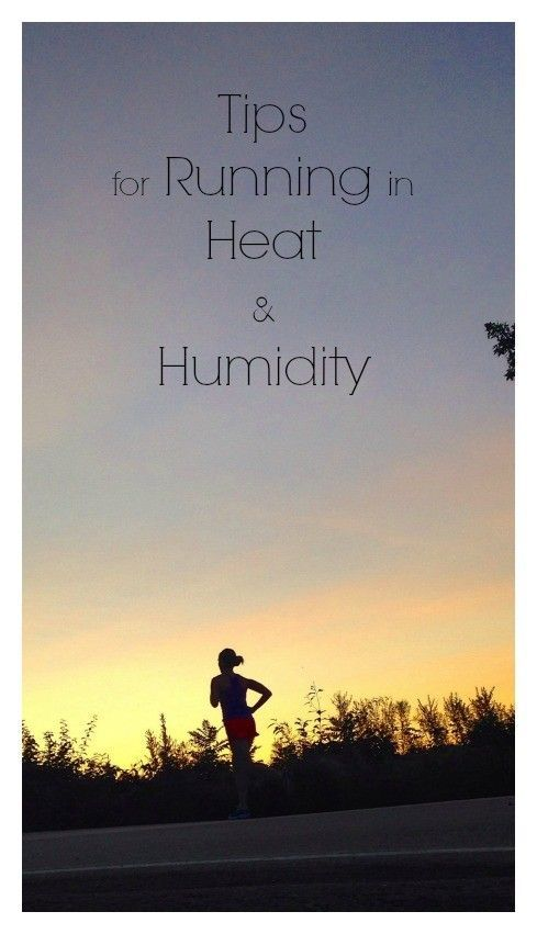 Tips for running in heat and humidity. Beat the heat and stay cool! | http://happyfitmama.com #correres #deporte #sport #fitness #running