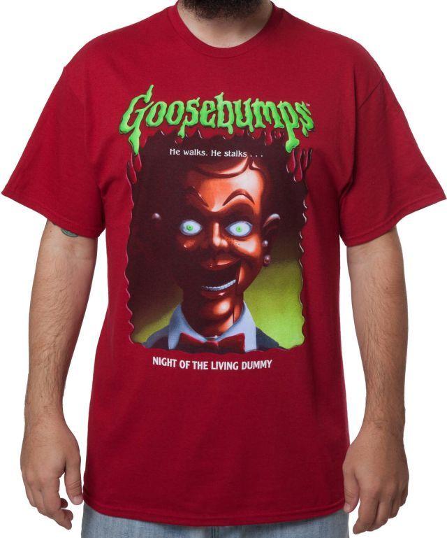 Goosebumps Slappy the Dummy T-Shirt - R.L. Stine T-Shirt