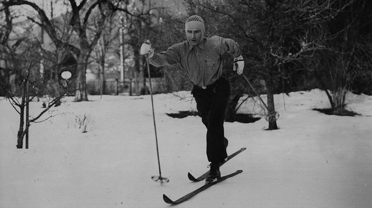 Awesome Black and White Photos of the Early Days of Winter Olympics - weather.com