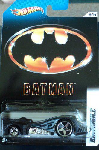 2012 HOT WHEELS BATMAN batmobile 08/08 @ niftywarehouse.com