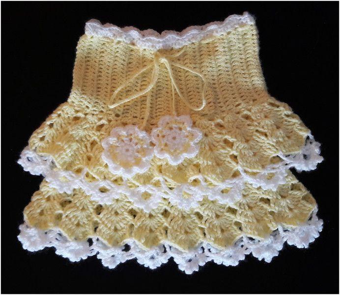 Żółta spódniczka dla dziewczynki - Fantazja-handmade - Spódniczki dla dziewczynek